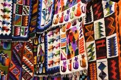 Αγορά αναμνηστικών Machu Picchu Pueblo Aguascaliente Στοκ φωτογραφία με δικαίωμα ελεύθερης χρήσης