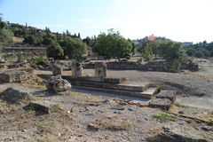 αγορά αρχαία Αθήνα Στοκ Εικόνες