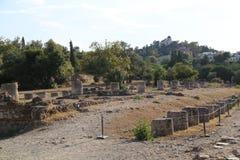 αγορά αρχαία Αθήνα Στοκ φωτογραφίες με δικαίωμα ελεύθερης χρήσης