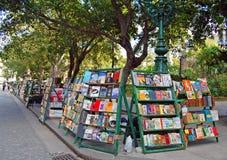 Αγορά βιβλίων στην Αβάνα Στοκ εικόνα με δικαίωμα ελεύθερης χρήσης