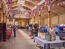 Αγορά εσωτερικό UK Pannier Barnstaple στοκ φωτογραφία
