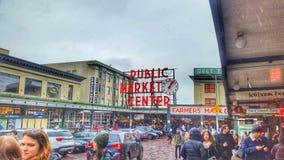 Αγορά θέσεων λούτσων Στοκ φωτογραφία με δικαίωμα ελεύθερης χρήσης