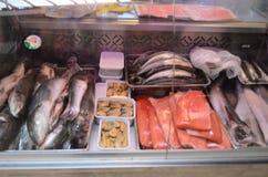 Αγορά θαλασσινών Στοκ Εικόνες