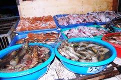 Αγορά θαλασσινών Στοκ Φωτογραφίες