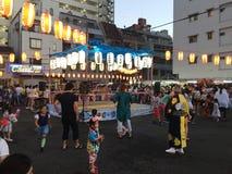 Αγορά θερινού φεστιβάλ της Οζάκα Ιαπωνία Στοκ φωτογραφίες με δικαίωμα ελεύθερης χρήσης