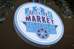 Αγορά ιωβηλαίου στον κήπο Covent Στοκ Εικόνες