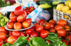 Αγορά καρπού στοκ εικόνα
