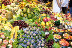 Αγορά καρπών Στοκ Φωτογραφία