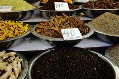 Αγορά καρυκευμάτων Στοκ Εικόνες