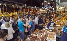 αγορά Λα boqueria Στοκ φωτογραφία με δικαίωμα ελεύθερης χρήσης