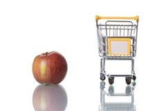 αγορά μήλων στοκ φωτογραφία με δικαίωμα ελεύθερης χρήσης