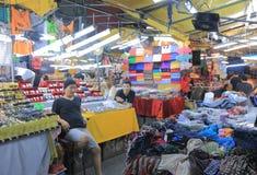 Αγορά Μπανγκόκ Ταϊλάνδη νύχτας στοκ φωτογραφία με δικαίωμα ελεύθερης χρήσης