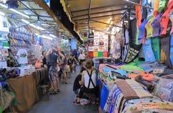 Αγορά Μπανγκόκ Ταϊλάνδη νύχτας στοκ φωτογραφίες