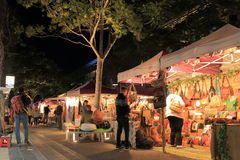 Αγορά Μπρίσμπαν Αυστραλία νύχτας στοκ φωτογραφία με δικαίωμα ελεύθερης χρήσης