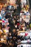 Αγορά νύχτας στο τετραγωνικό εμπορικό κέντρο του Σιάμ Στοκ φωτογραφία με δικαίωμα ελεύθερης χρήσης