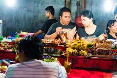 Αγορά νύχτας Gianyar στην επαρχία Gianyar, Μπαλί, Ινδονησία στοκ εικόνες με δικαίωμα ελεύθερης χρήσης