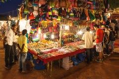 Αγορά νύχτας Goa Στοκ Φωτογραφίες