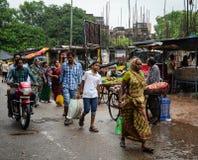 Αγορά οδών στο Varanasi, Ινδία Στοκ εικόνες με δικαίωμα ελεύθερης χρήσης