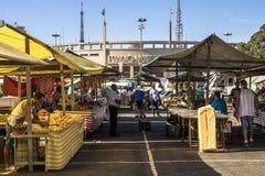 Αγορά οδών στοκ εικόνα