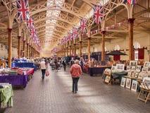 Αγορά ο εσωτερικός Devon UK Pannier Barnstaple στοκ εικόνες