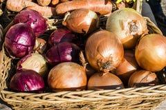 Αγορά οδών λαχανικά καρυκευμάτων Στοκ φωτογραφία με δικαίωμα ελεύθερης χρήσης