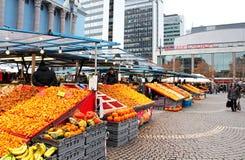 Αγορά σανού (Hotorget) στην πλατεία Hotorget, Στοκχόλμη Στοκ εικόνα με δικαίωμα ελεύθερης χρήσης