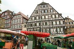 Αγορά σε Donaworth Στοκ φωτογραφίες με δικαίωμα ελεύθερης χρήσης