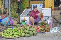 Αγορά σε Hoi, Βιετνάμ Στοκ φωτογραφίες με δικαίωμα ελεύθερης χρήσης