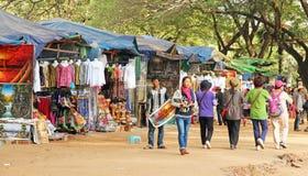 Αγορά στην Καμπότζη Στοκ Φωτογραφίες