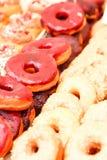 αγορά στην πόλη στην οδό με τα donuts Στοκ Φωτογραφία