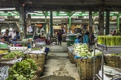 Αγορά στη Μπανγκόκ, Ταϊλάνδη Στοκ Φωτογραφίες