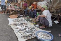 Αγορά στη Πνομ Πενχ, Camobodia Στοκ Φωτογραφίες