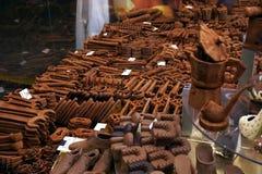 Αγορά στοιχείων σοκολάτας Στοκ φωτογραφία με δικαίωμα ελεύθερης χρήσης