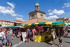 Αγορά στο γλέντι, Γαλλία Στοκ Εικόνα