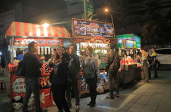 Αγορά Ταϊπέι Κίνα νύχτας Shilin Στοκ εικόνα με δικαίωμα ελεύθερης χρήσης