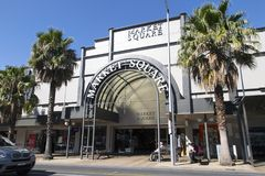 Αγορά τετραγωνικό Geelong Στοκ Φωτογραφία
