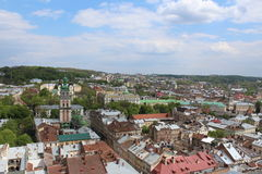 Αγορά τετραγωνικό Lviv Στοκ φωτογραφία με δικαίωμα ελεύθερης χρήσης