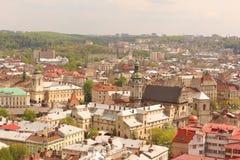 Αγορά τετραγωνικό Lviv Στοκ Εικόνα