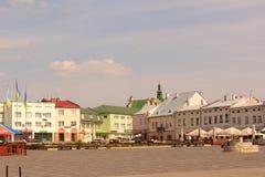 Αγορά τετραγωνικό Zhovkva Στοκ εικόνα με δικαίωμα ελεύθερης χρήσης
