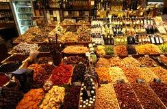 αγορά της Βαρκελώνης Στοκ εικόνα με δικαίωμα ελεύθερης χρήσης
