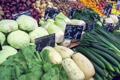 Αγορά της Βιέννης ` s Naschmarkt δημοφιλέστερη Στοκ Εικόνες