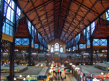 Αγορά της Βουδαπέστης Στοκ Εικόνες