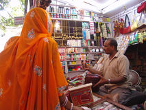 αγορά της Ινδίας Jaipur Στοκ φωτογραφία με δικαίωμα ελεύθερης χρήσης