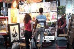 Αγορά της Κυριακής Στοκ εικόνα με δικαίωμα ελεύθερης χρήσης