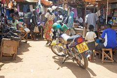 αγορά της Ρουάντα Στοκ φωτογραφία με δικαίωμα ελεύθερης χρήσης