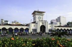 Αγορά του Ben Thanh στη πόλη Χο Τσι Μινχ Στοκ φωτογραφία με δικαίωμα ελεύθερης χρήσης