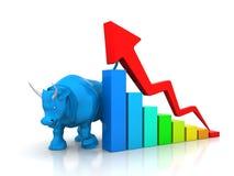 Αγορά του Bull απεικόνιση αποθεμάτων