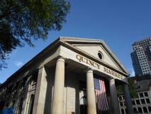 Αγορά του Quincy, Βοστώνη, Μασαχουσέτη, ΗΠΑ Στοκ φωτογραφία με δικαίωμα ελεύθερης χρήσης