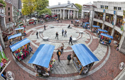 Αγορά του Quincy Στοκ Φωτογραφία