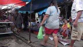 Αγορά τραίνων απόθεμα βίντεο